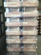 Pallet of folding attic stairs