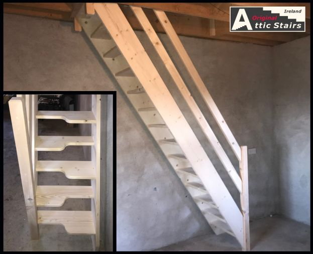 Fixed Space Saving Paddle Stairs