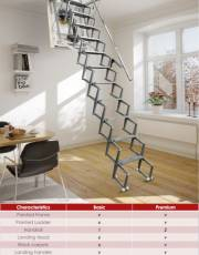 Auto Electric Attic Stairs - Basic